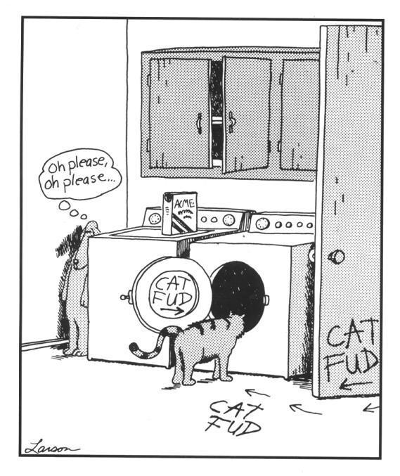 farside-comic-gary-larson-dog-leads-cat-to-washer